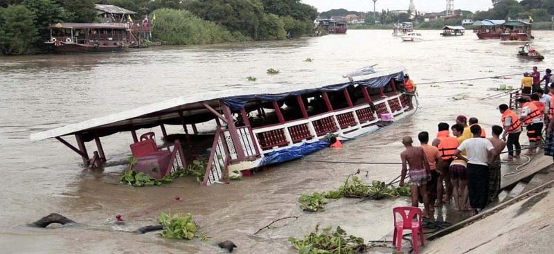 20 feared dead after boat carrying 40 passengers capsizes in Assam