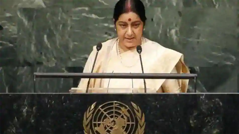 India cannot pursue talks with a country that 'glorifies killers': Swaraj