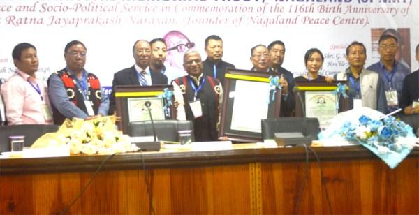 3 receive Award for Peace & Socio-Political Service