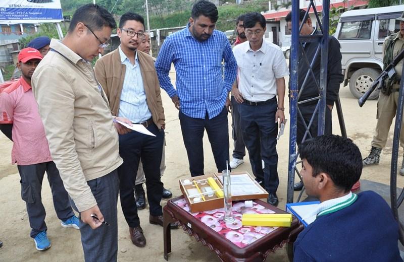 DQCTF inspects petrol pumps at Wokha