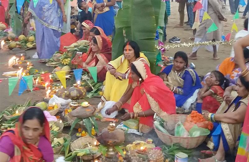 Chhath Puja celebrated in Dimapur