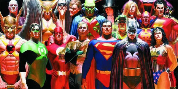 When Stan Lee wrote DC superheroes