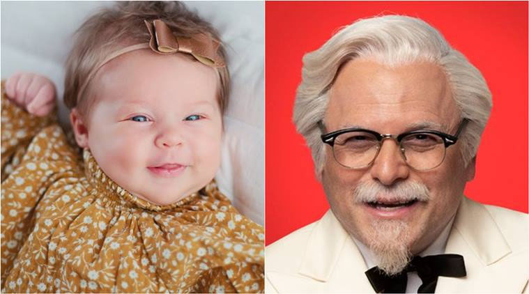 KFC pays couple $11,000 for naming newborn girl after founder