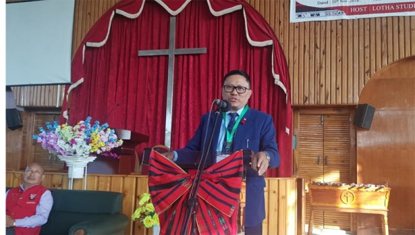 CNSA can be a bridge between Naga tribes: Kikheto