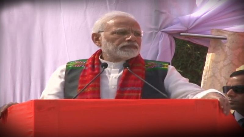 Cong has no regard for NE region, its traditions: PM