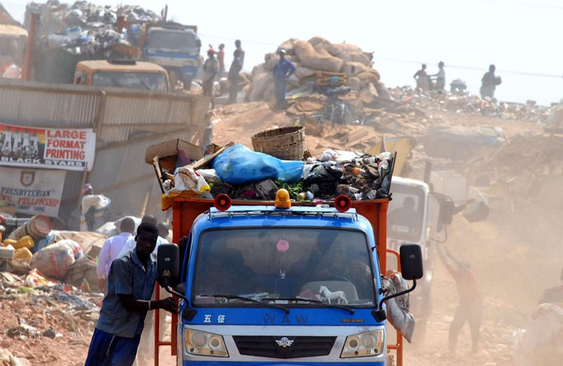 Transporting waste, construction materials in open trucks made an offence under MV law