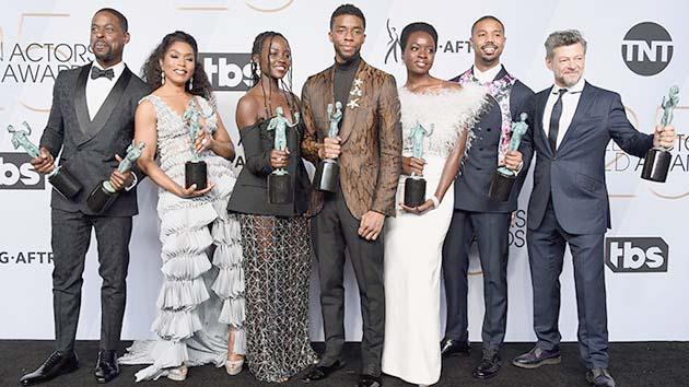 SAG awards: 'Black Panther', 'Marvelous Mrs. Maisel' win big