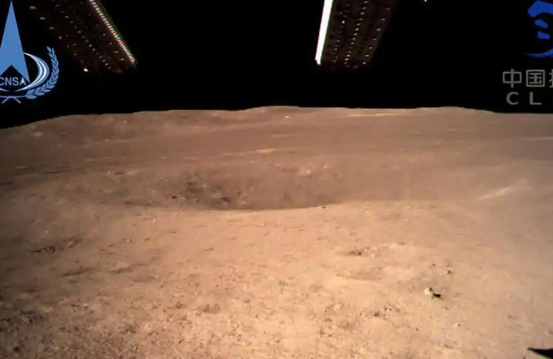 In a first, China lands space probe on dark side of moon hidden from earth