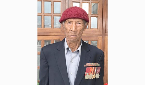 War veteran Hav Dazo Angami passes away