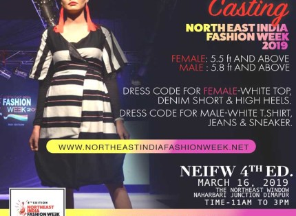 4th edition of Northeast India Fashion Week to be held in Dimapur