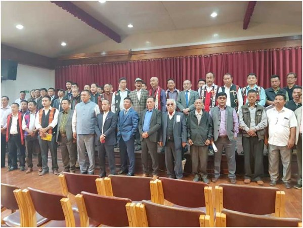 WC NNPGs holds meet  with Nagaland Tribe Hohos