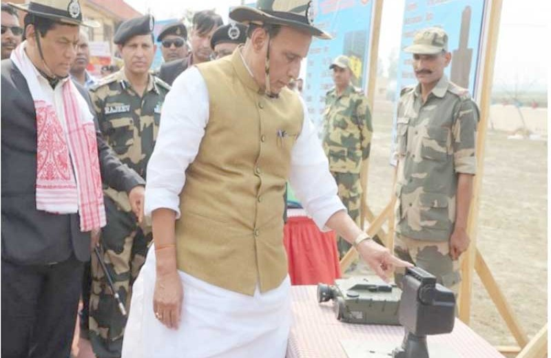 Indo-Bangla border in Assam gets advanced surveillance system