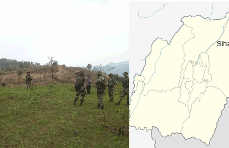 Tension grips Sihai as troops march close  to NSCN (IM) Southern Command