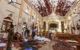 Sri Lanka imposes emergency, says int'l network involved in attacks