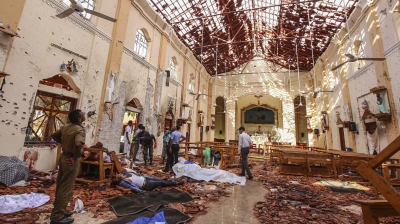 Sri Lanka imposes emergency, says int'l network involved in attacks
