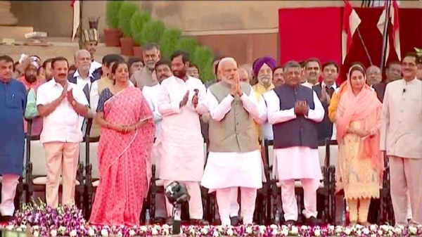 PM Narendra Modi begins 2nd term with 57 Ministers