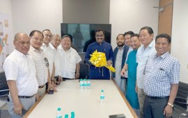 Nagaland BJP delegation calls on central leaders
