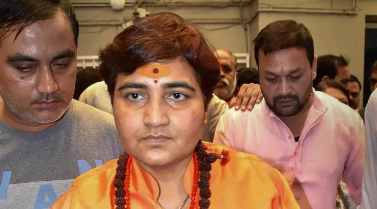 Pragya calls Godse 'patriot',  apologises later