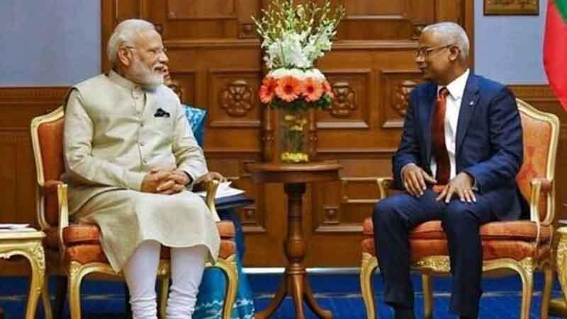 India, Maldives ink 6 pacts as PM Modi, Prez Solih hold talks
