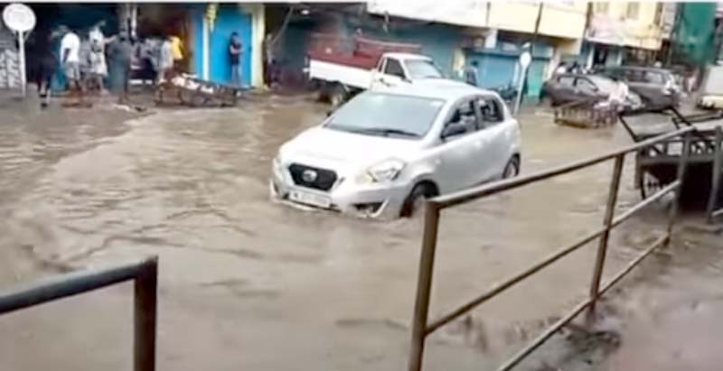 Dimapur flooded after 30-minutes of rain; State monsoon preparedness plan fails to deliver