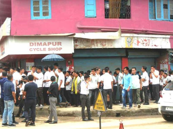 Students' bandh in Dimapur partial