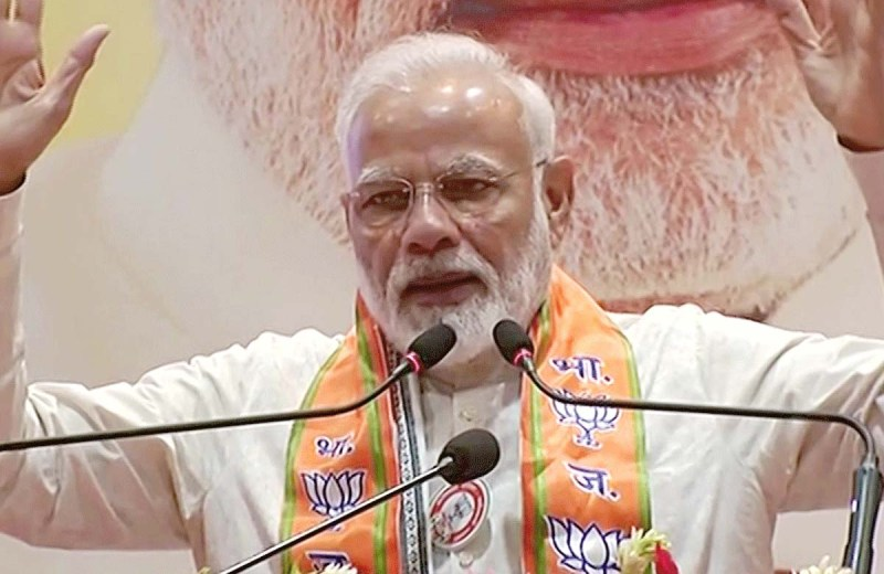 Modi says soldiers lost lives because of Cong's 'love' for Art 370, repeats challenge to Cong