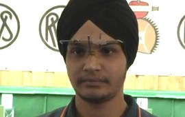 Sarabjot wins India's 9th gold at Jr shooting World Cup
