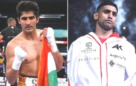 I am ready for a bout, Vijender challenges Amir