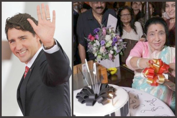 Asha Bhosle receives birthday wishes from Canadian PM Justin Trudeau