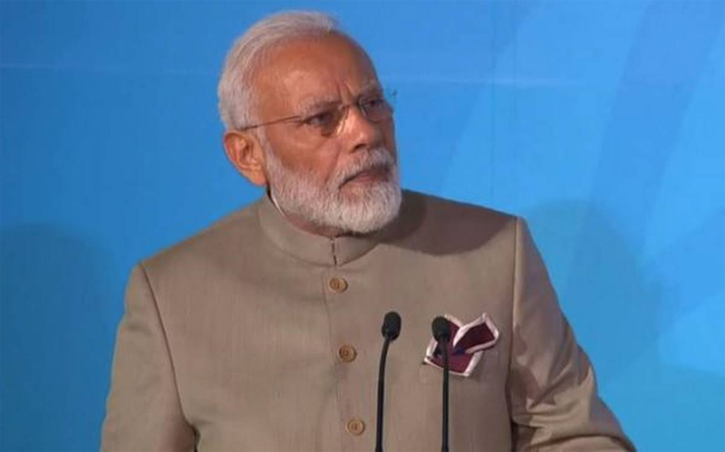 PM Modi pledges to more than double India's non-fossil fuel target to 450 GW