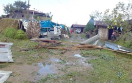 Thunderstorm batters Naghuto villages