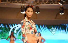 Wijaidin Pamai walks at International Fashion Week Goa