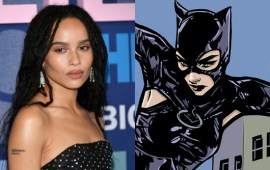Zoe Kravitz will play Catwoman to Robert Pattinson's Batman in new film