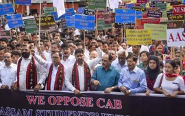 Protests against CAB in NE states