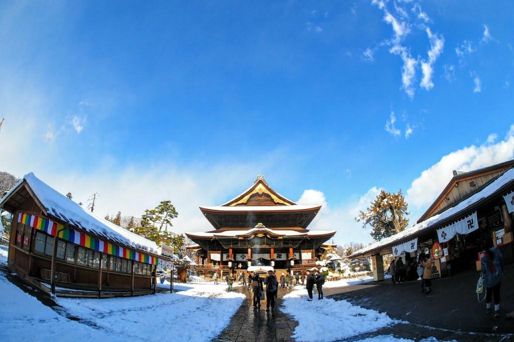 Zenko-ji Temple in Nagano