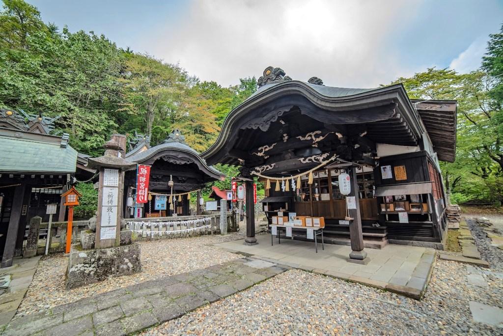 Kumano kodai shrine in karuizawa, nagano