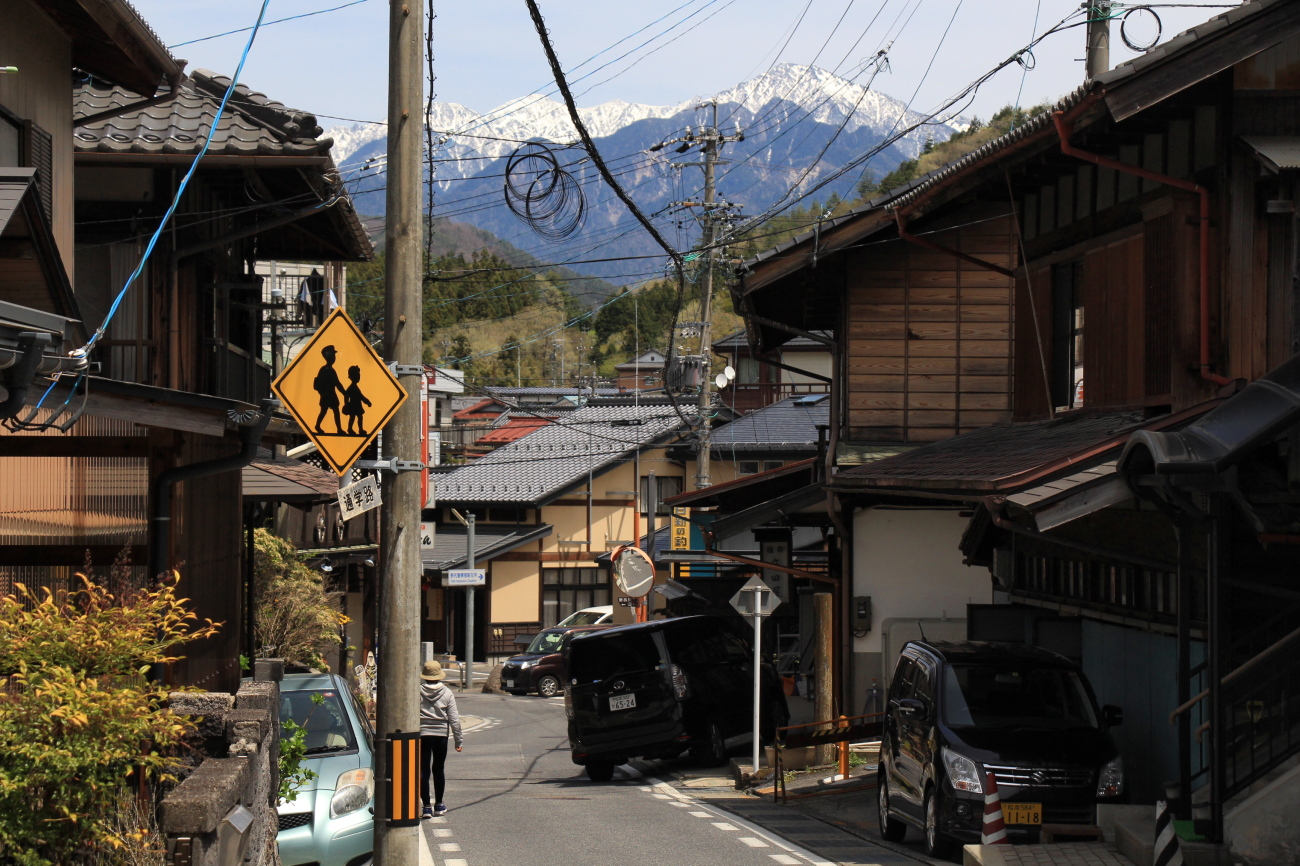 post town in Nagano