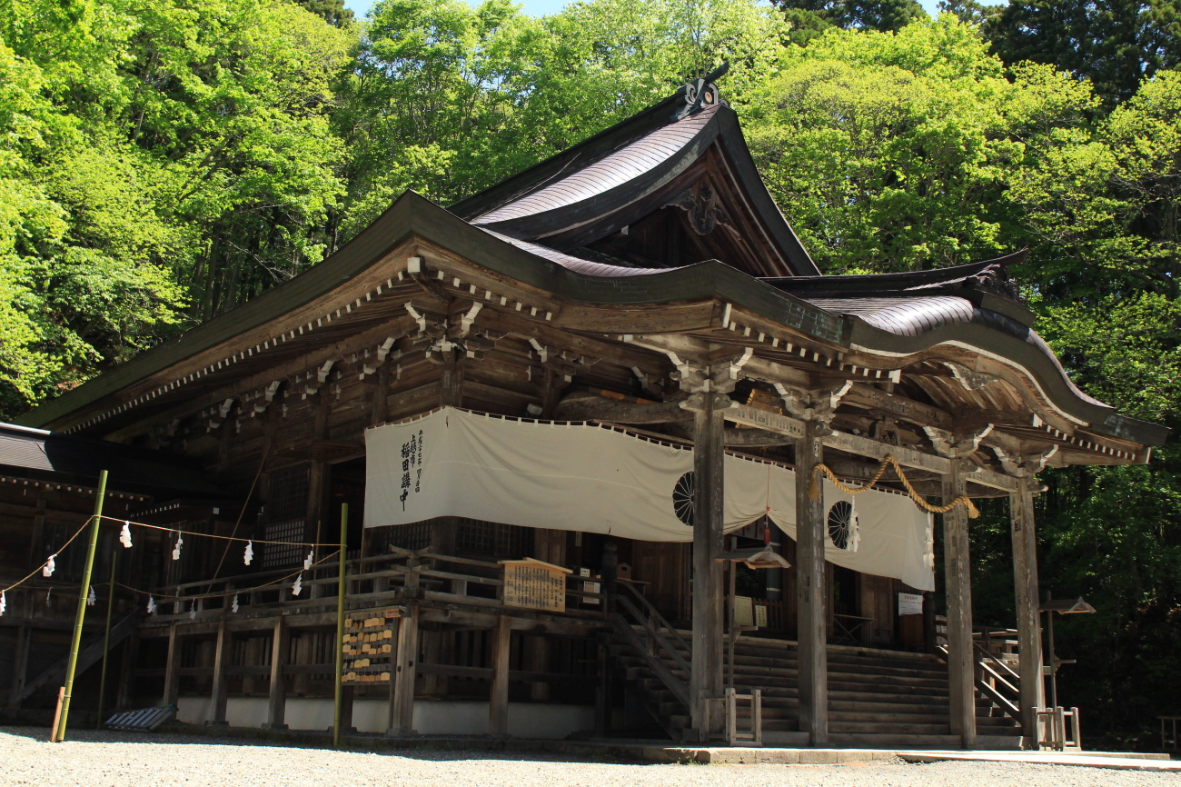 Togakushi shrine in Nagano