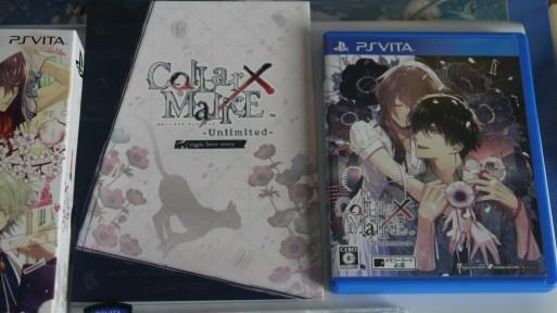 Collar x Malice Unlimited Limited Edition Livret et jeu