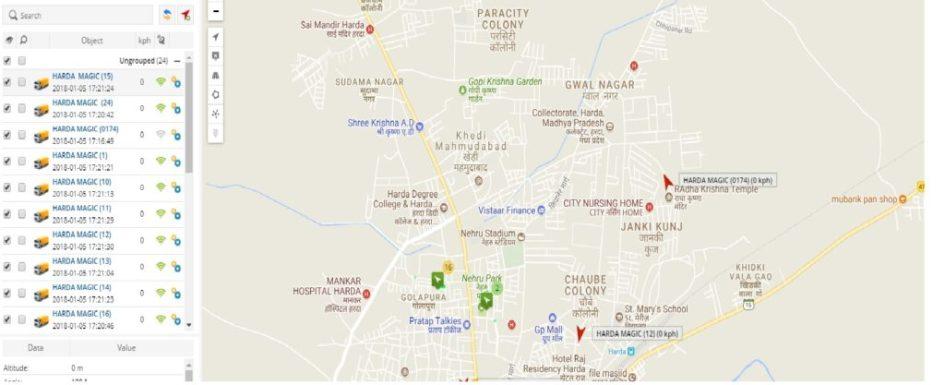 GPS TRACKING NP HARDA