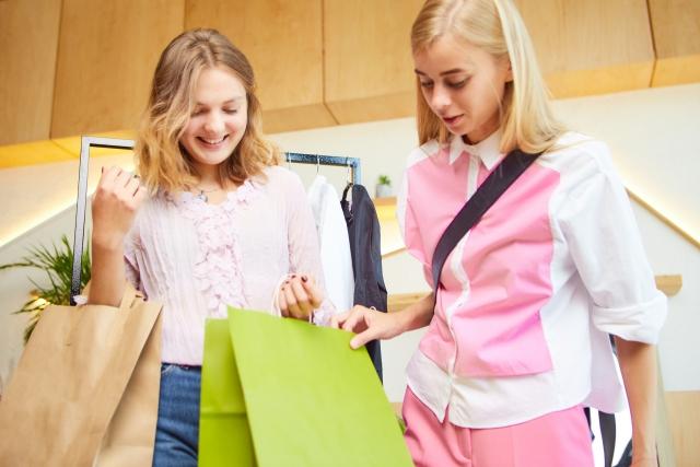 友達と買い物