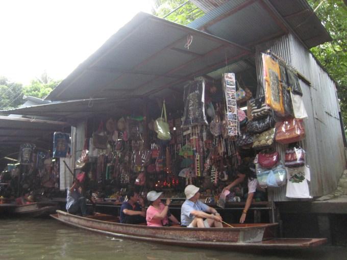 バンコク水上マーケット