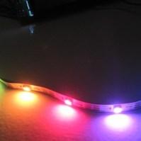 LED WS2812B en gros plan