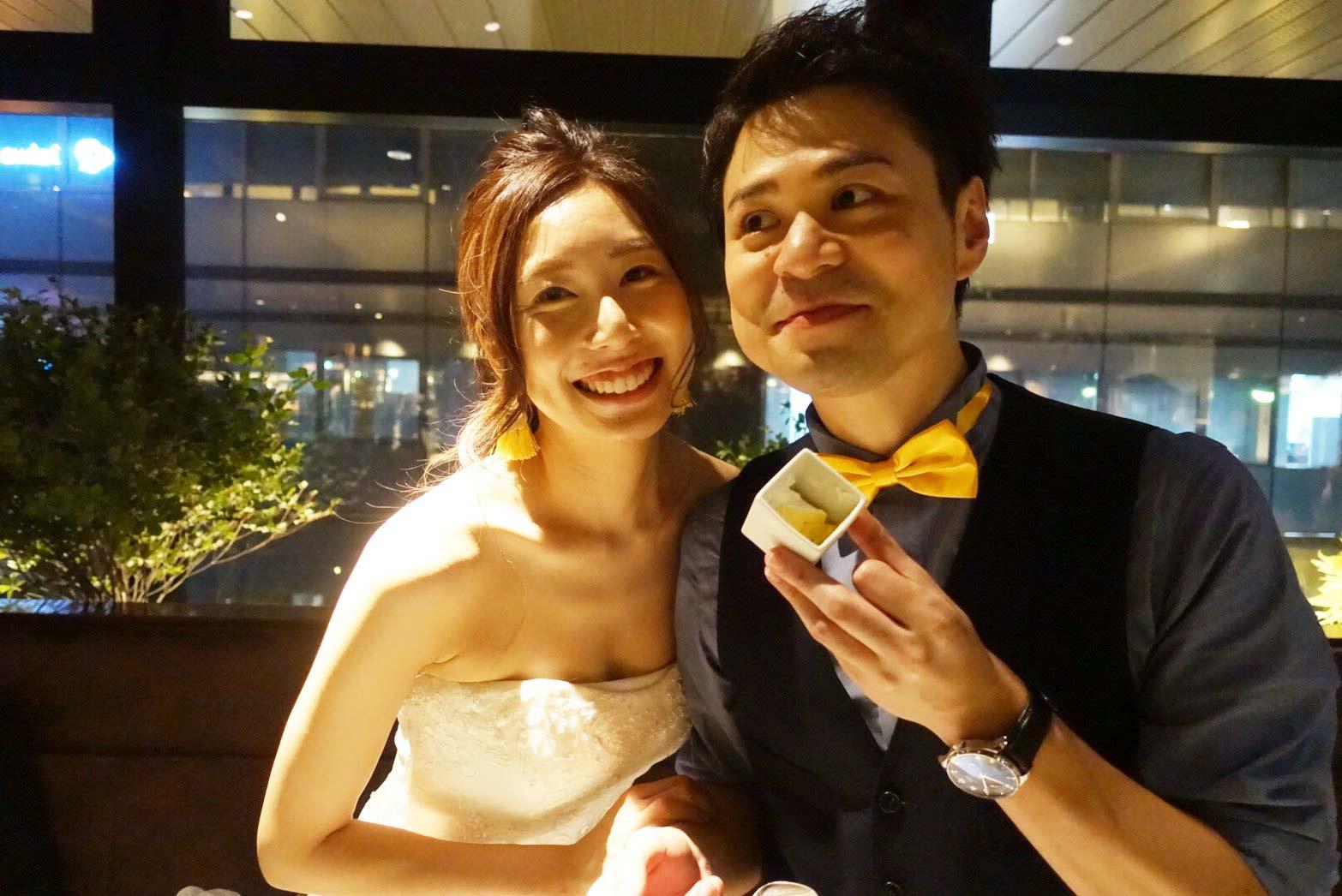 ケンタ&カナちゃんの結婚式!!二人とも本当におめでとう!!