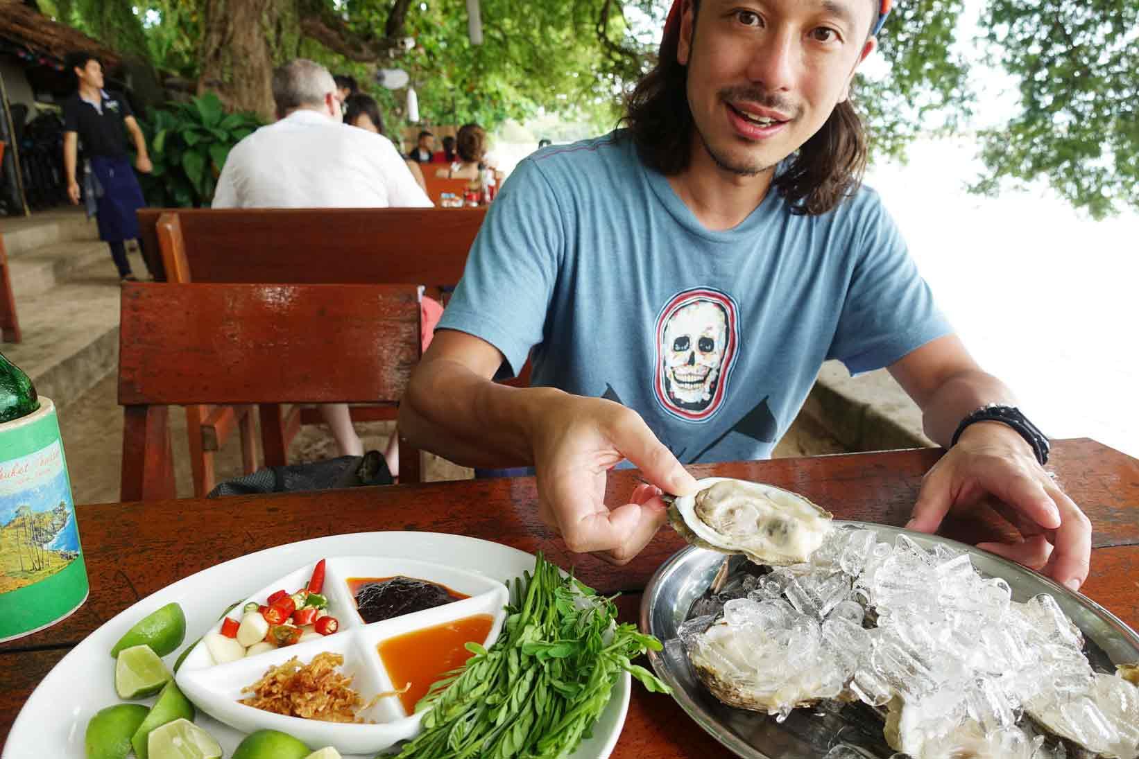 プーケット・ラワイビーチにある【ニキータ】で食べる、絶品生牡蠣!! | 楽園の人気イタリアン