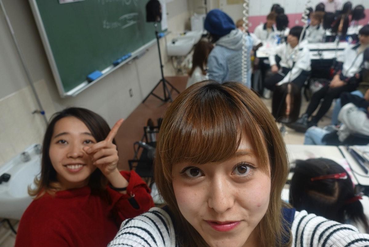 ラストの東京総合美容専門学校特別授業(第2回) | これがair流のカットとパーマだ!!