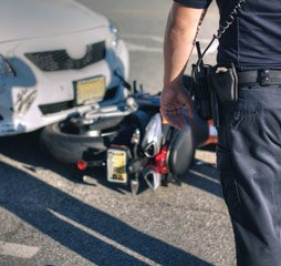 Car and Motorcycle Accident Resulting in Injuries