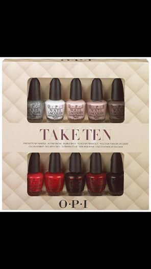 take ten OPI