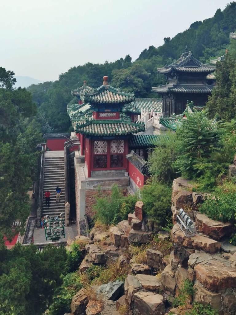 Wzgórze Długowieczności Pałac Letni w Pekinie.