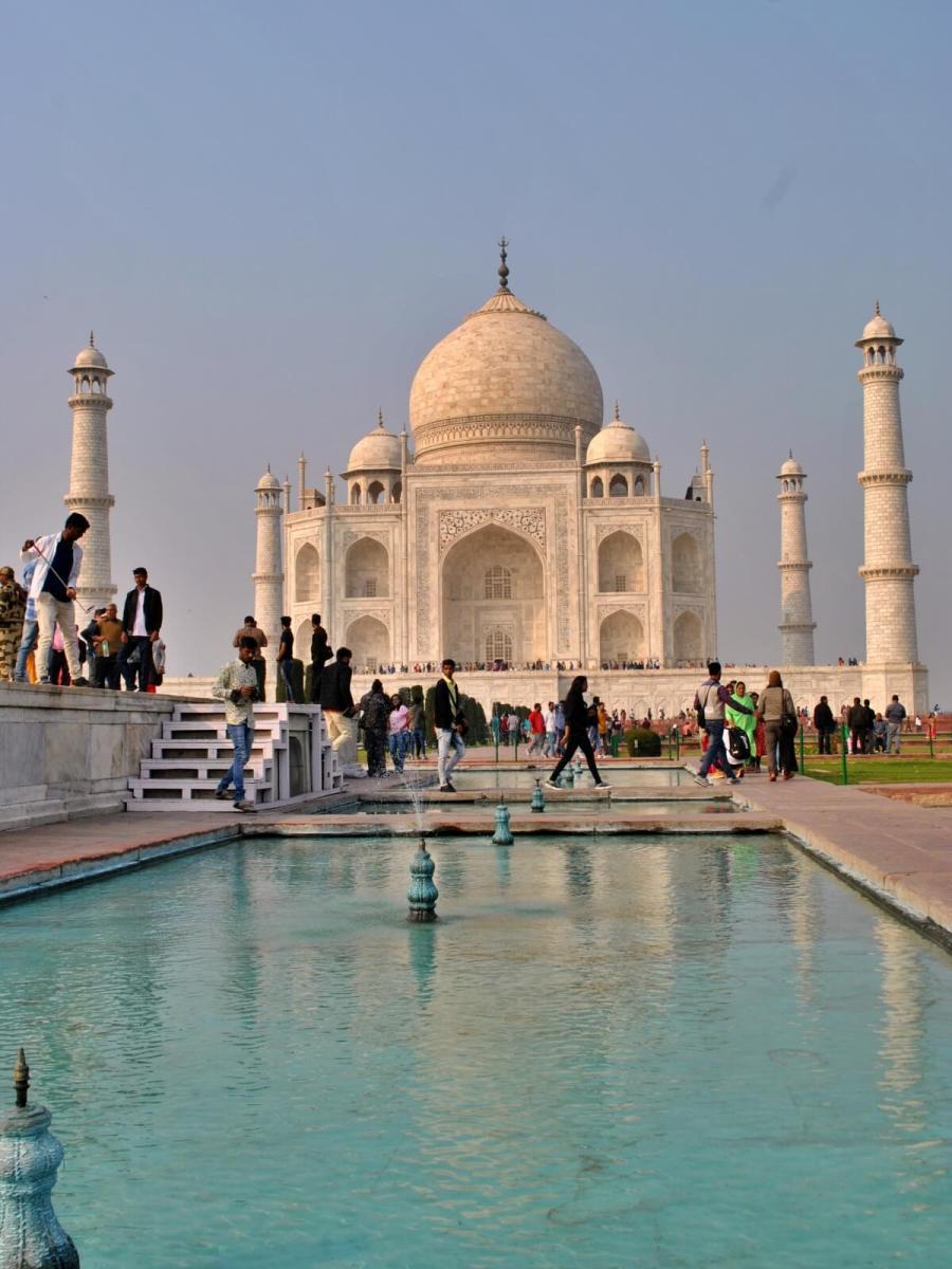 Tadz Mahal w Agrze.